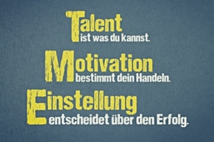 Einstellung als Motivation